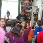 Paul Turdo with West Ridge 4th Graders 6-6-13